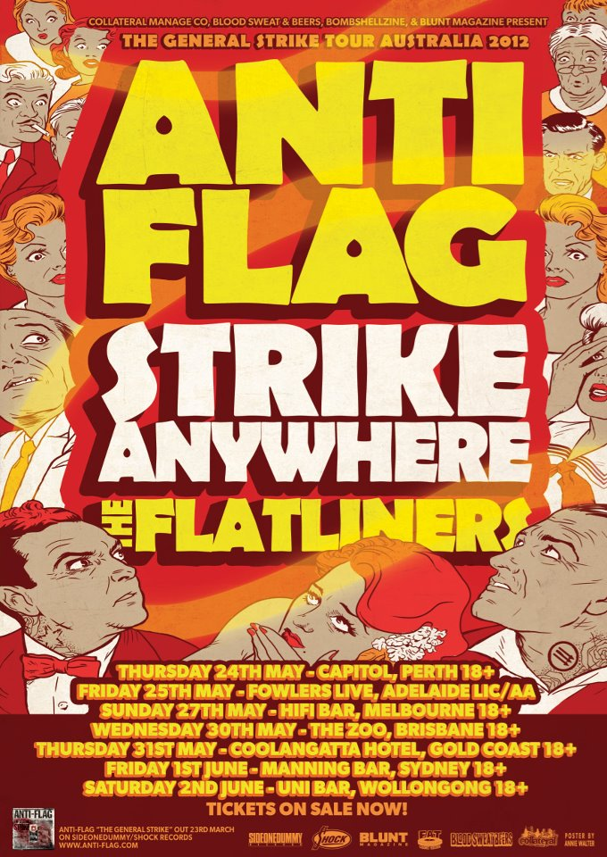 ANTIFLAG IN AUSTRALIA MAY 2012